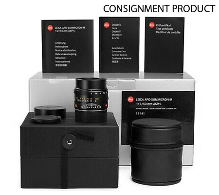 :::USED:::Leica Apo-Summicron-M 50mm F/2 Asph 11141 (Mint-652) CONSIGNMENT