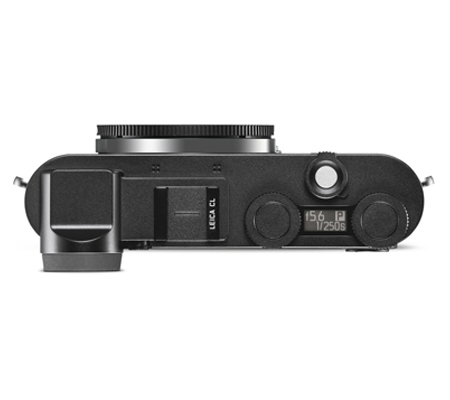 Leica CL Body Only Mirrorless Camera Black Anodized Finish (19301)
