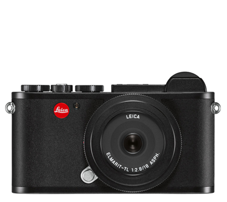 Leica CL Elmarit-TL with 18mm F/2.8 ASPH Black Anodized Finish (19304)