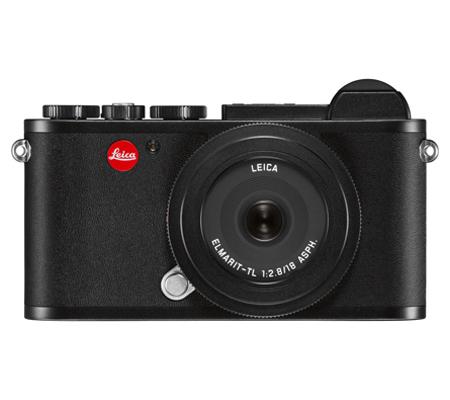 Leica CL Elmarit-TL with 18mm F/2.8 ASPH Black Anodized Finish (19304)