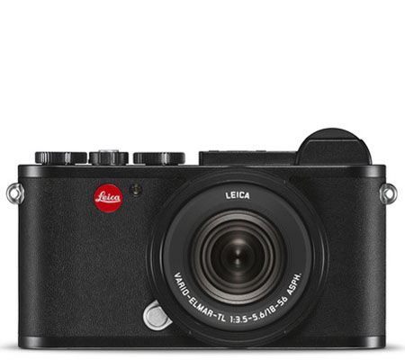 Leica CL Mirrorless Digital Camera Black with 18-56mm Lens (19305)