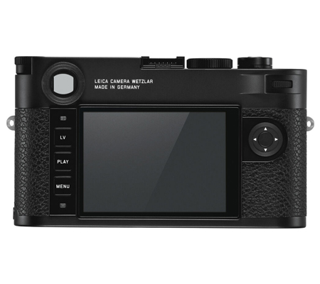 Leica M10-R Digital Rangefinder Camera Black Chrome (20002)