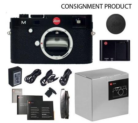 ::: USED ::: Leica M (Typ 240) Digital Range Finder Body (Black) (99.99% As Brand New) Consignment