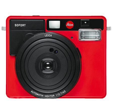 Leica Sofort Instant Film Camera Red