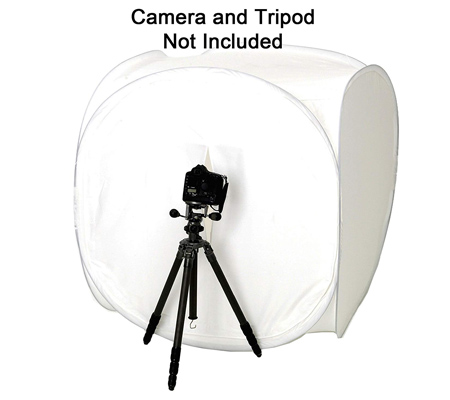 Light Tent Photo Cube Softbox with 4 Colored Backgrounds (80 x 80cm)