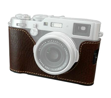 Lims Half Case for Fujifilm X100F Brown