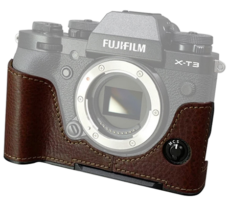 Lims Half Case for Fujifilm XT3 Brown