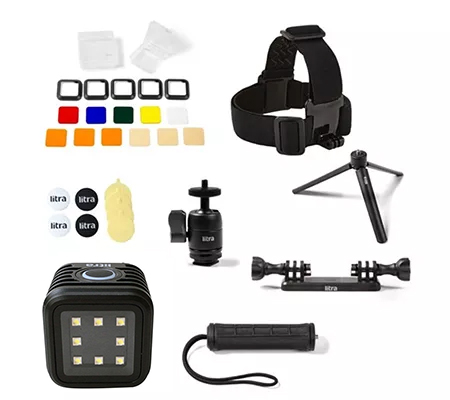 Litra Torch Bundling Accessories for Action Camera Complete Set