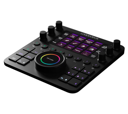 Loupedeck CT Creative Tool Editing Console for Photo/Video/Design