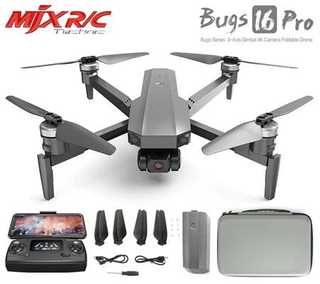 MJX Bugs 16 Pro EIS 3-Axis Gimbal 4K Camera Foldable Drone