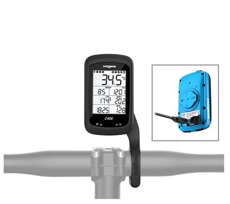 Magene C406 GPS Smart Bike Computer Blue