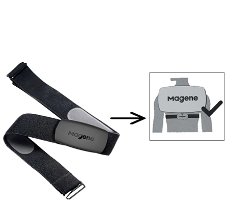 Magene Heart Rate Monitor HRM Sensor H64 Ant+