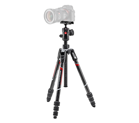 Manfrotto Tripod Befree Carbon Fiber with 494 Ball Head MKBFRTC4BH