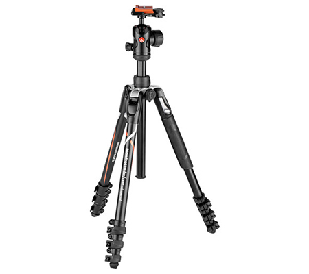 Manfrotto Tripod Befree Advanced Travel Aluminum with 494 Ball Head MKBFRLA-BH