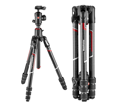 Manfrotto Befree GT XPRO Carbon Fiber Travel Tripod with 496 Ball Head