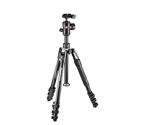Manfrotto Befree 2N1 Aluminum Tripod with 494 Ball Head MKBFRLA4B-BHM