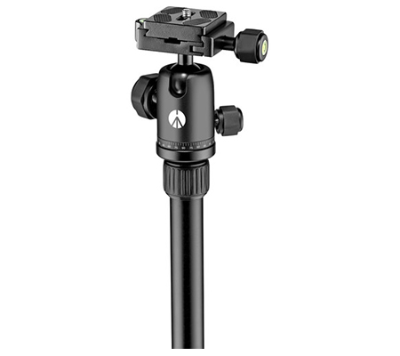 Manfrotto Element Small Aluminum Traveler Tripod MKELES5BK Black