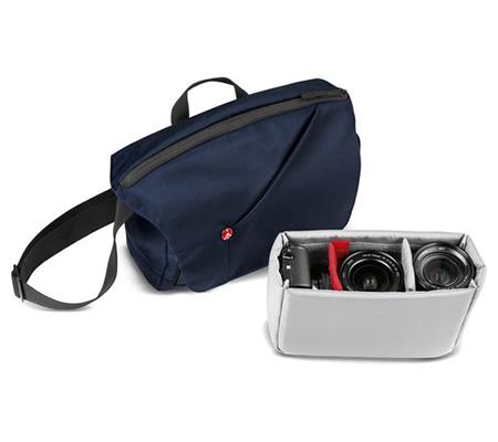 Manfrotto NX Messenger Camera Bag for CSC Blue (MB NX-M-BU)