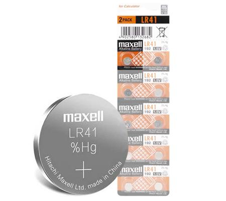 Maxell LR41 Battery