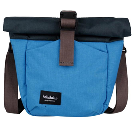Hellolulu Matt Compact Camera Bag Blue