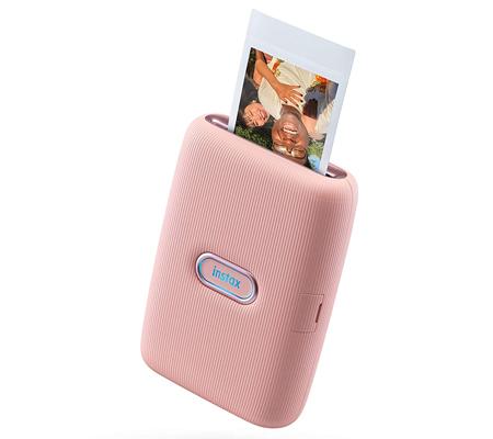 Fujifilm Instax Mini Link Smartphone Printer Dusky Pink