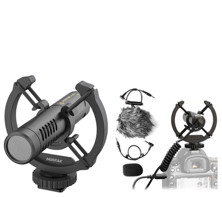 MirFak N2 On-Camera Microphone for Camera and Smartphone