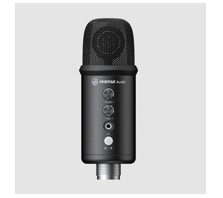 MirFak TU1 USB Desktop Microphone Only