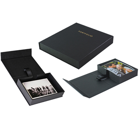 Mon Tresor Picture Box JPC014 Black with Mon Tresor Photo Coreboard JPC015