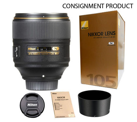 ::: USED ::: Nikon AF-S Nikkor 105mm f/1.4E ED N (Mint-509) CONSIGNMENT