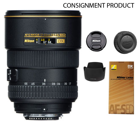 :::USED:::Nikon AF-S 17-55mm f/2.8G DX IF-ED (Excellent) Kode 629 Consignment