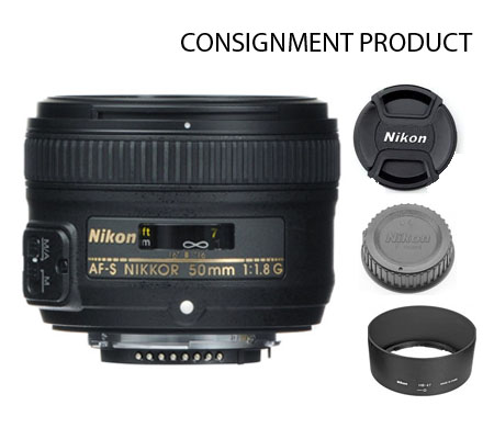 :::USED::: Nikon AF-S 50mm f/1.8G (Excellent) Kode 220 Consignment