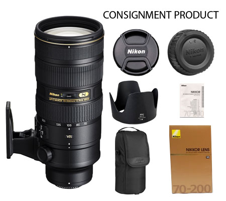:::USED:::Nikon AF-S 70-200mm f/2.8G ED VR II (Excellent) Kode 231 Consignment