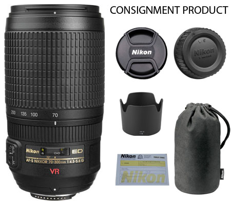 :::USED:::Nikon AF-S 70-300mm f/4.5-5.6G VR IF-ED (Mint) Kode 980 Consignment