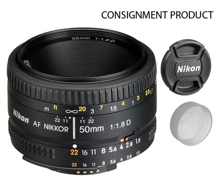 :::USED:::Nikon AF 50mm f/1.8D (Excellent) Kode 951 Consignment