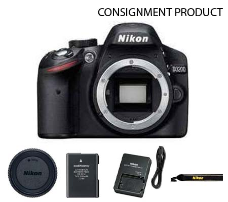 :::USED::: Nikon D3200 Body (Excellent) #139 Consignment