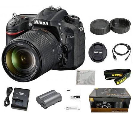 :::USED::: Nikon D7200 Kit AF-S 18-140mm f/3.5-5.6G VR Kode 342/749 (Unit Display 100% seperti Baru)