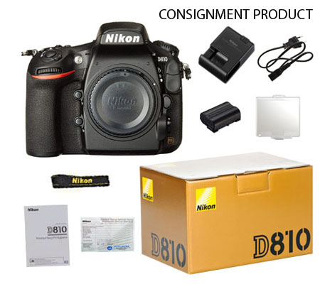 ::: USED ::: Nikon D810 Body (Excellent To Mint-165) CONSIGNMENT PRODUCT