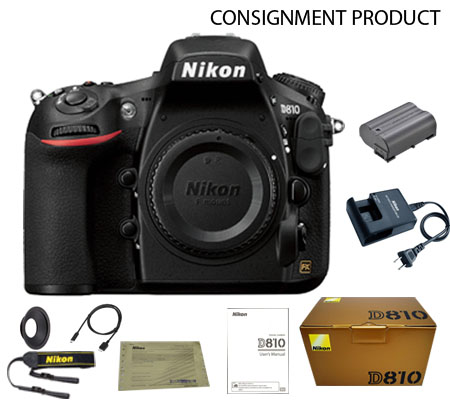 :::USED:::Nikon D810 Body (Excellent) Kode 740 Consignment