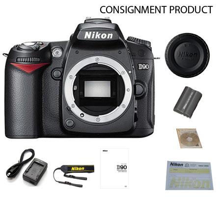 :::USED:::Nikon D90 Body (Mint) Kode 237 Consignment