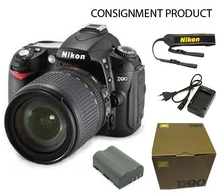 :::USED::: Nikon D90 KIT 18-105 (Excellent) #390/836 Consignment
