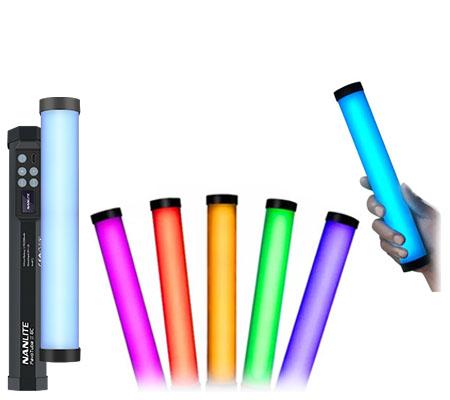 NanLite PavoTube II 6C LED RGB Tube Light 10 Inch with Magnets