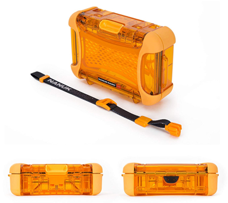 Nanuk Nano 330 Protective Hard Case Orange
