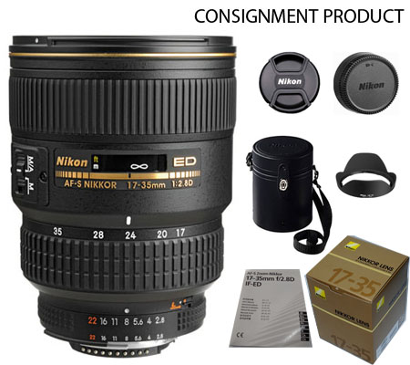 :::USED:::Nikon AF-S 17-35mm f/2.8D IF ED (Excellent) Kode 889 Consignment