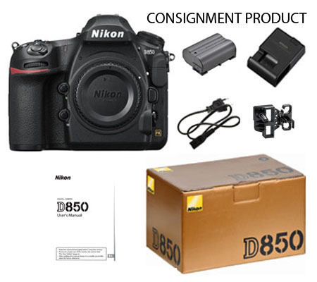 ::: USED ::: Nikon D850 Body (Mint-925) CONSIGNMENT PRODUCT