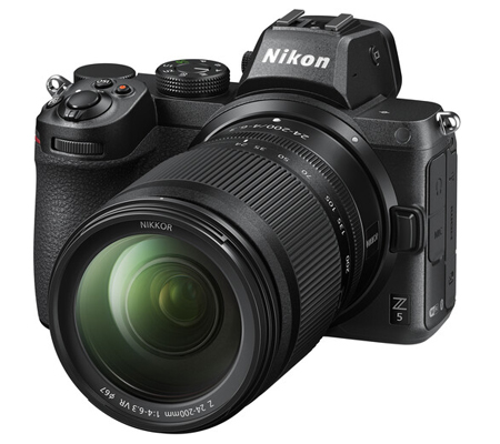 Nikon Z5 kit 24-200mm f/4-6.3 VR Mirrorless Digital Camera
