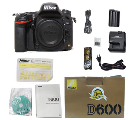 ::: USED ::: Nikon D600 Body (Excellent-106)