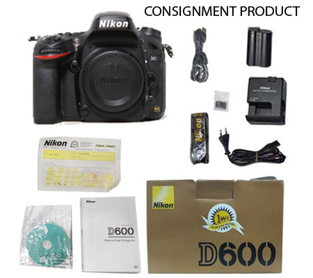 ::: USED ::: Nikon D600 Body (Excellent-106) CONSIGNMENT