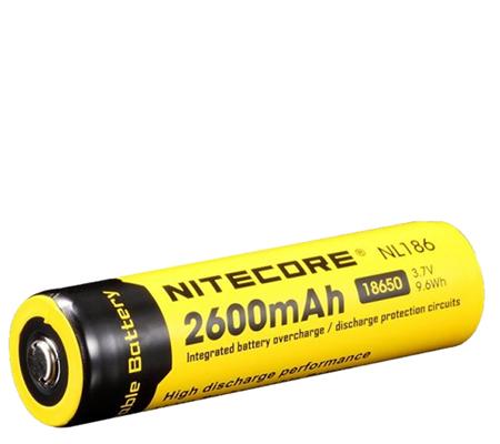 Nitecore 18650 Li-ion Rechargeable Battery 2600mAh NL186