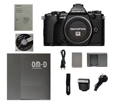 ::: USED ::: Olympus OMD E-M 5 Mark II Body (Black) (Excellent To Mint-781)