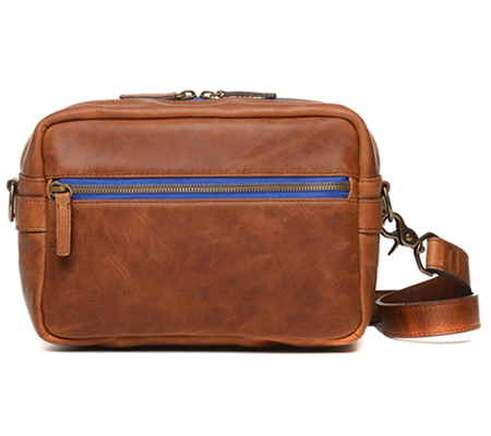 Ona The Crosby Leather Camera Bag Antique Cognac